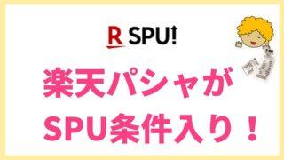 楽天パシャパがSUP入りの記事タイトル画像