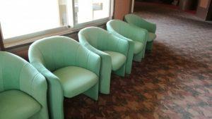 病院の待合室