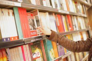 本屋と洋書の写真