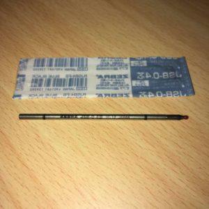 ゼブラのJSE0.4芯ブルーブラックパッケージから出した所